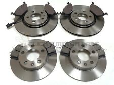 VW GOLF MK4 1998-2004 FRONT & REAR BRAKE DISCS & PADS SET (PLEASE CHECK SIZE)
