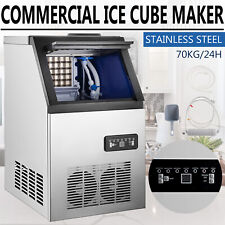 150lb Built In Commercial Ice Maker Undercounter Freestand 59 Ice Cube Machine