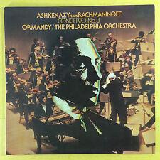 Ashkenazy Plays Rachmaninoff - Concerto No.3 - Ormandy - Philadelphia  ARL1-1324