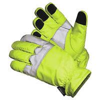Hi-vis Traffic Control Thinsulate Scotchlite Reflective Gloves