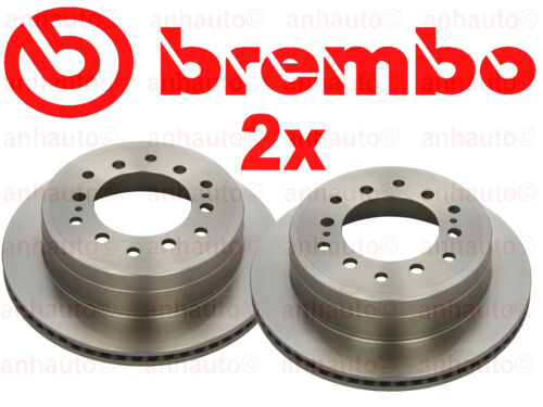 Set of 2 Brembo  Rear Disc Rotor/'s  for Lexus /& Toyota
