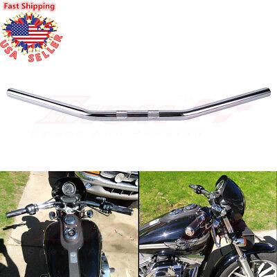 Motorrad Lenker Stahl chrom 1 Zoll LSL DRAGBAR WIDE handlebar steel chrome 1inch