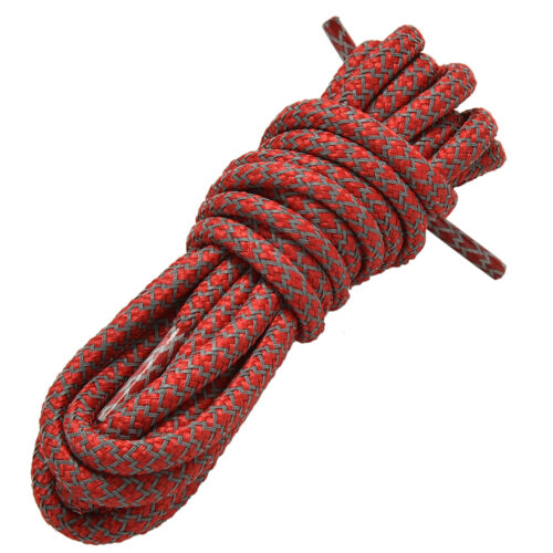 """49/"""" 3 M Reflective Round Rope Shoe Laces Shoelaces Runner Shoestrings 15Col2"""