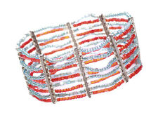 Gorgeous & Sublime-ruby Red Beads Stack/One Size Fits All Hand Bracelet(Zx257)