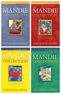 NEW Mandie Collection volumes 1 2 3 4 Paperback Books Lois Gladys Leppard