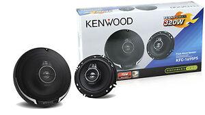 Kenwood-KFC-1695PS-6-5-034-3-Way-Round-Car-Speakers-Pair-KFC1695PS