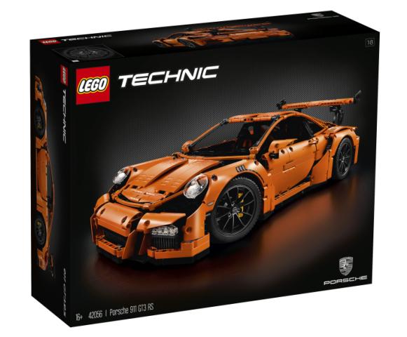Retraite  LEGO 42056 Technic PORSCHE 911 GT3 RS  new, factory-boîte scellée