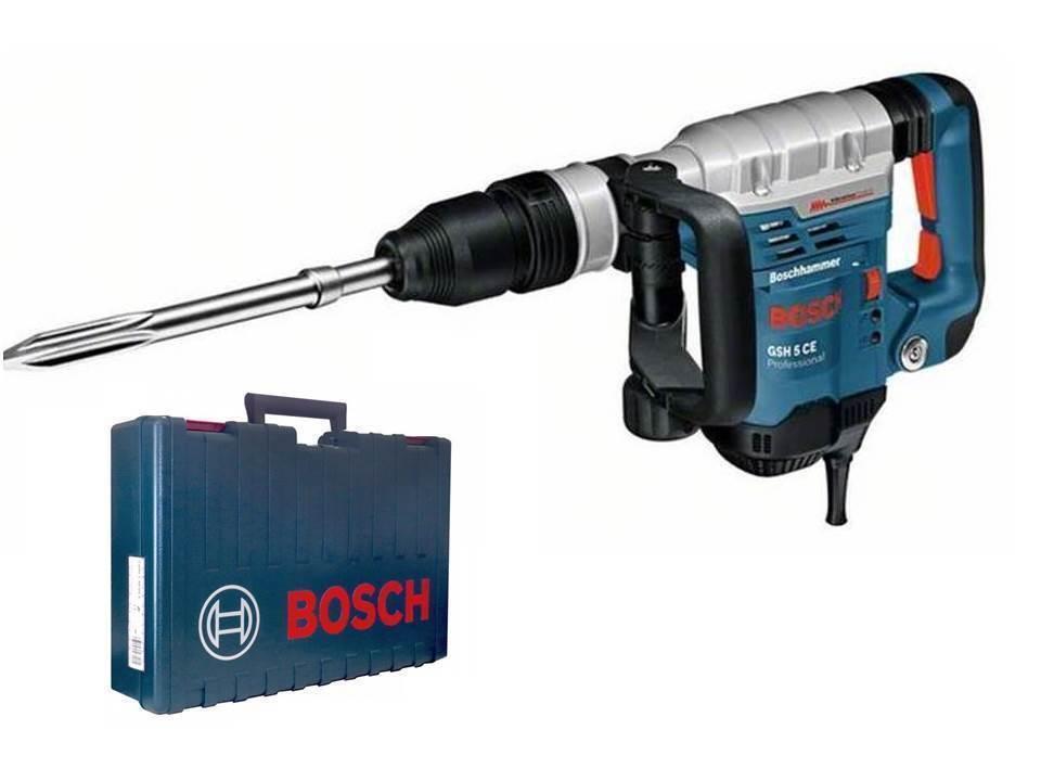 Bosch Schlaghammer Stemmhammer GSH 5 CE inkl. Koffer + Spitzmeißel original