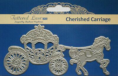 Horse 433312 Tattered Lace Intricate Cutting Die Set ~ DOBBIN Dog