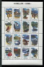 Chile 873, MNH, Wild Animals Birds. 1990  x18432
