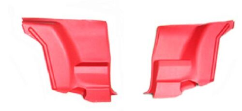 ARM REST SET 1972-81 FIREBIRD TRANS AM /& CAMARO REAR SEAT SIDE PANEL RED