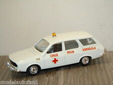 Renault 12 Break Cruz Roja Espanola van Solido 22 France 1:43 *20375