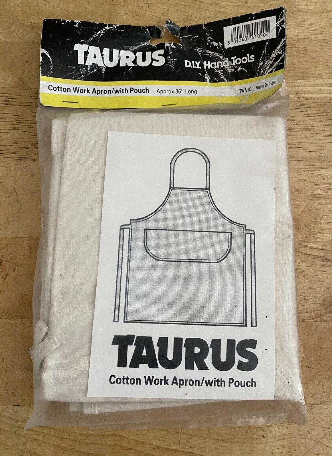 Carpenters Joiners Cotton Work Apron With Pouch By Taurus
