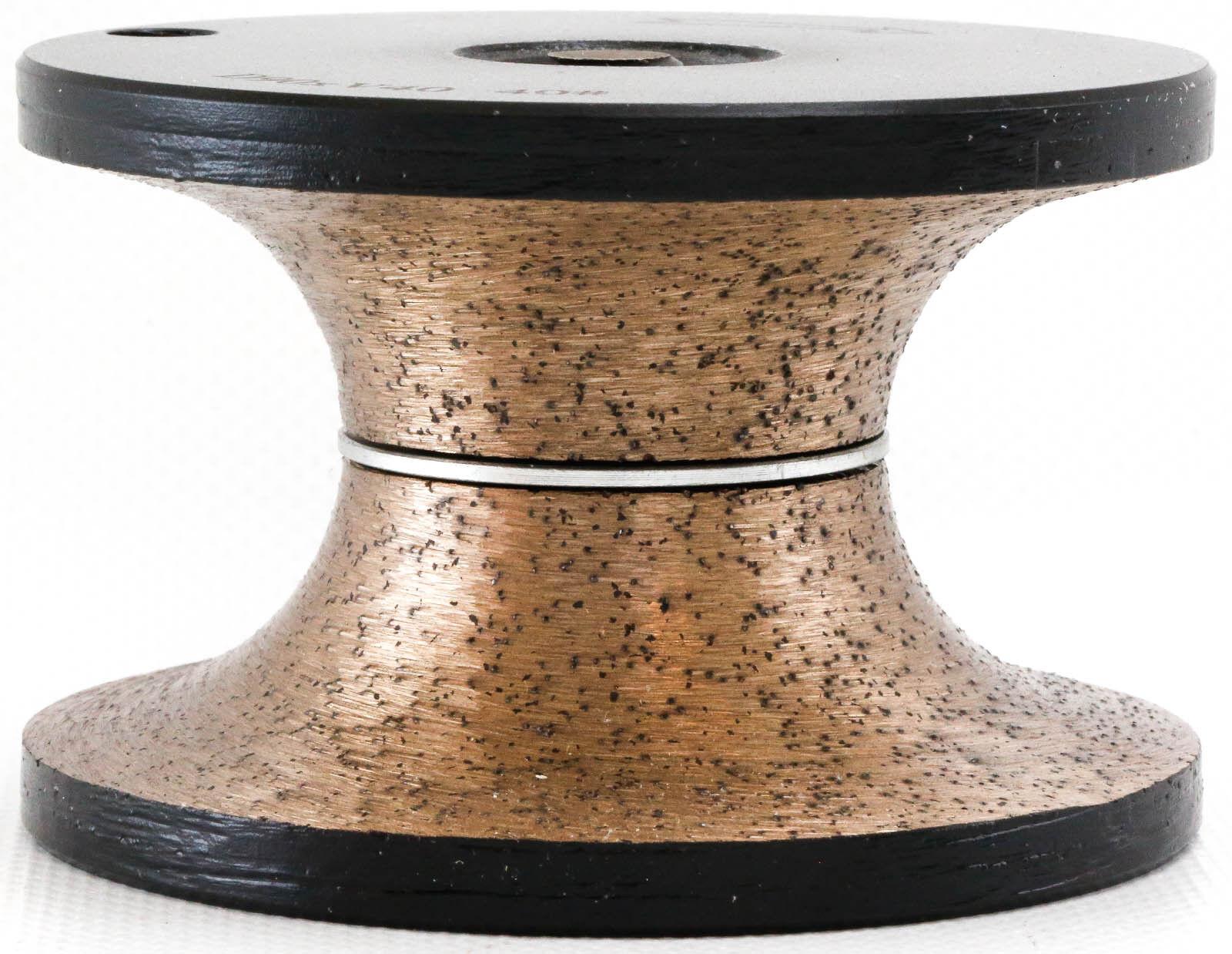 Diamond Router Bit V-40mm Full Bullnose Granite Engineerot Stone Concrete Marble