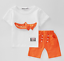 2PCS Toddler  Kids Baby Boys Short Sleeve T-Shirt Tops shorts Clothes Outfits