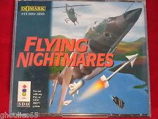 FLYING NIGHTMARES 3DO PANASONIC FLYING NIGHTMARES 3 DO GOLDSTAR