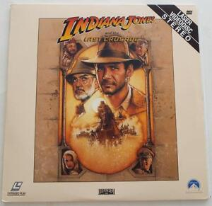 INDIANA-JONES-AND-THE-LAST-CRUSADE-Harrison-Ford-LASERDISC-2-Extended-Discs