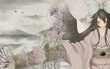 Incorniciato stampa-FANTASY giapponese geisha (picture poster SUNRISE animazione)