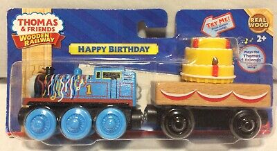 Admirable Thomas Friends Wooden Railway Happy Birthday Train Cake Cargo Funny Birthday Cards Online Inifodamsfinfo