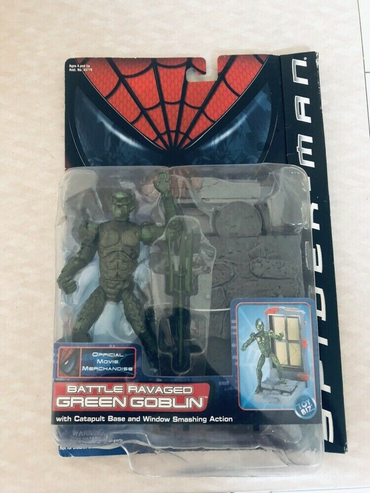 Green Goblin Battle Battle Ravaged Spider-Man Series MISB EXTREMELY RARE