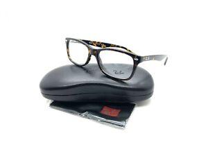 f53bdfb8a402 Ray Ban Eyeglass Frames RB5228-2012 Tortoise 53-17-140 Full Rim ...