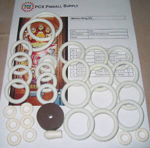 Details about 1947 United Mexico Pinball Machine Rubber Ring Kit