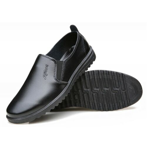 Men Chef Shoes Anti-slip Soft Casual Loafers Waterproof Hotel Kitchen Cook Shoes