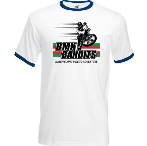 BMX Bandits T-Shirt Mens Retro Movie 80/'s Film Cycling Bike MTB Chopper Top