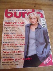 MAGAZINE-BURDA-JOUR-ET-SOIR-ELEGANCE-DES-CLASSIQUE-LES-MOIRES-A-LA-FETE-1999