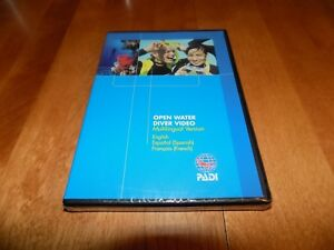 PADI-OPEN-WATER-Training-Materials-Scuba-Divers-Diving-Diver-Dive-DVD-SEALED-NEW