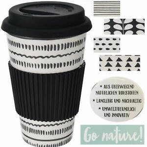 Coffee-to-Go-Becher aus BambusKaffe-Becher Trink-Becherwiederverwendbar