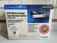 Conner Tape Stor Scsi Minicartridge Tape Backup System 4000mb Tsm4000r