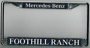 Image Is Loading RARE Foothill Ranch California Mercedes Benz  Vintage Dealer