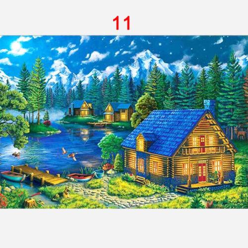 5D DIY Landscape Full Drill Diamond Painting Embroidery Cross Stitch Decor Kits