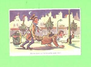 R-POSTCARD-MONTE-DONC-SUR-LA-BROUETTE-AVEC-MOI-HANG-OVER-COMIC-POST-CARD