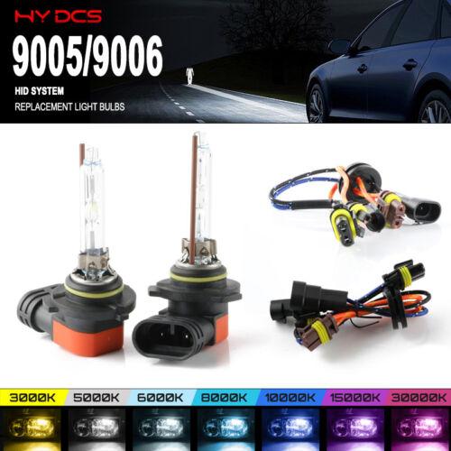 35W Xenon Replacement Fog Light Bulbs Lamp HID Kit 9005 9006 5500K 3900LM White