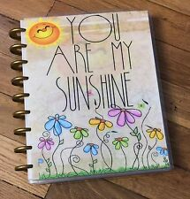 *You Are My Sunshine* Front/Back Cover Set for use w/ Happy Planner