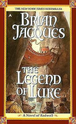 1 of 1 - The Legend of Luke (Redwall, Book 12)-ExLibrary