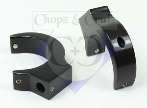 Blinkerhalter-fuer-die-Gabelholme-41-mm-2-Stueck-Aluminium-schwarz