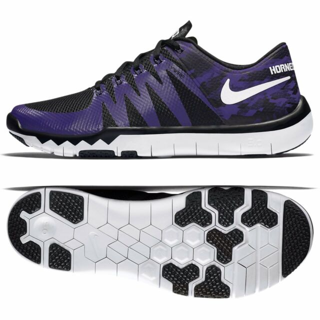 563223f5eca4 Nike Sz 11.5 Trainer 5.0 V6 Amp TCU Horned Frogs Mens Orchid 723939 ...