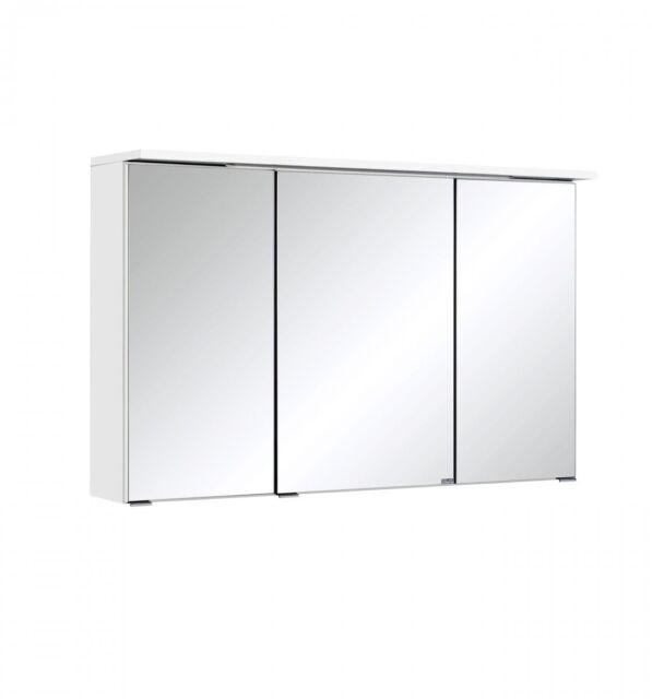 Spiegelschrank 100 Bologna Von Held Mobel Weiss Ebay