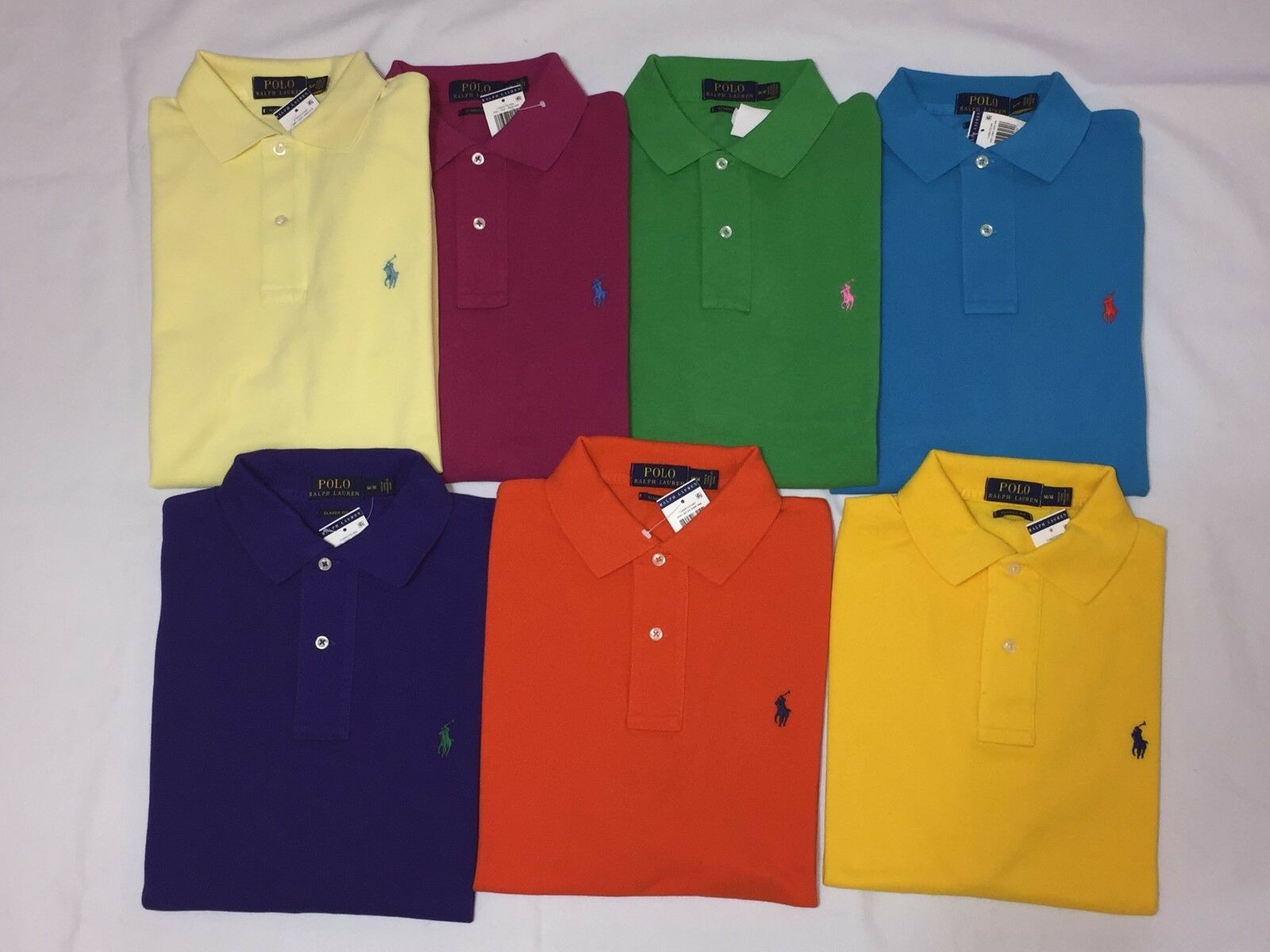 NEW WITH TAGS POLO RALPH LAUREN MEN'S CLASSIC FIT POLO SHIRT- S M L XL 2XL