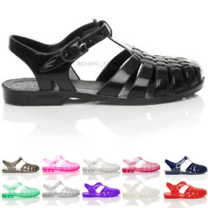 Damen Schuhe Details Flip Flache Schnalle Flops 90er Zu Grösse Sandalen Retro Gummi Mit by7gYf6