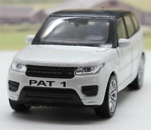White-Range-Rover-Sport-PERSONALISED-PLATES-Boys-Toy-Model-Dad-Mum-Car-Box-Gift