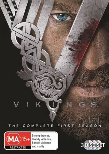 1 of 1 - Vikings : Season 1 (DVD, 2014, 3-Disc Set)