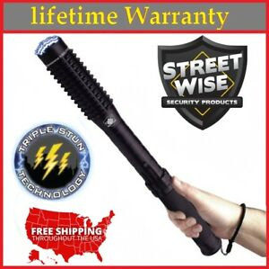 "STUN GUN WITH FLASHLIGHT 9 MILLION VOLTS 14"" LONG!!!"