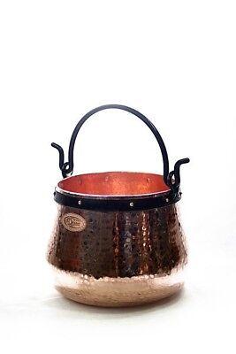 Appena Coppergarden ® Caldaia In Rame ❀ 10 Litri ❀ Streghe Caldaia ❀ Sennkessel ❀ Magazzino Caldaia- Avere Uno Stile Nazionale Unico