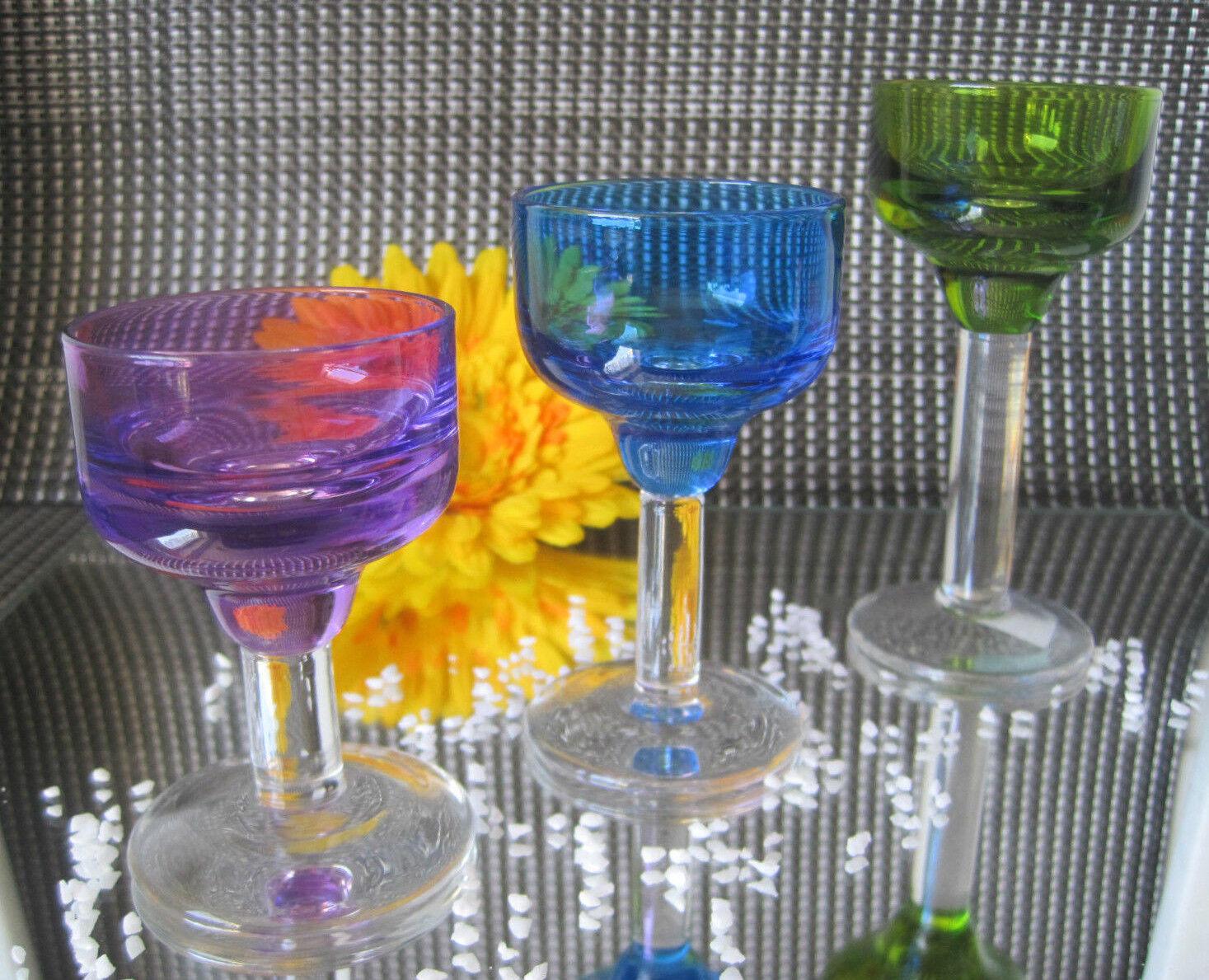 PartyLite Teelichthalter FARBTUPFER (Trio)  Neu Ovp und 3 Teelichter  | Hohe Sicherheit
