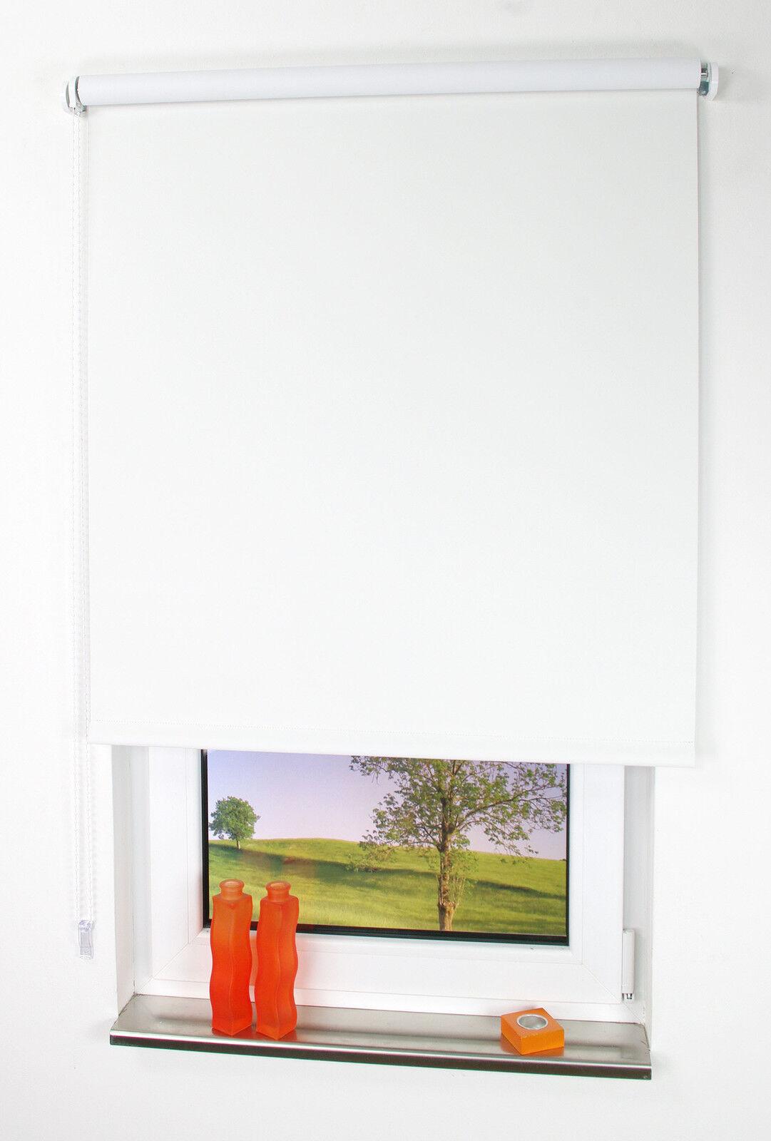 Maßanfertigung Spring- oder Seitenzugrollo verdunkelnd für  Fenster Fenster Fenster & Türen weiß | Die Königin Der Qualität  ff6e69