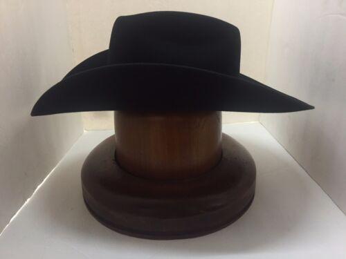 BULL BASH B NO TAX SELL RESISTOL 4X  HAT BLACK New W //tags FREE hat brush